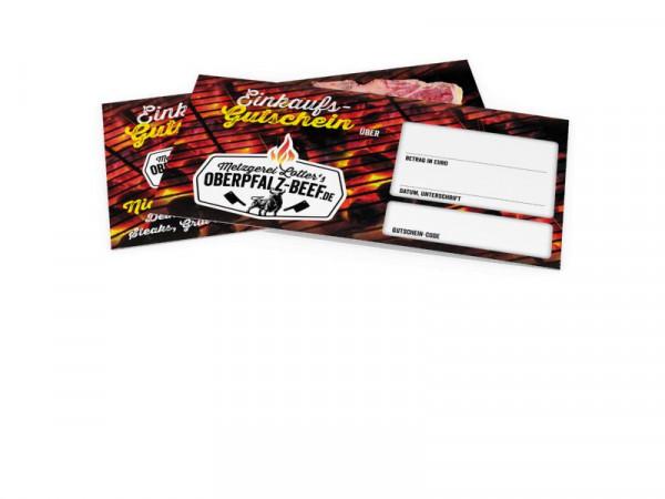 Einkaufsgutschein per Post
