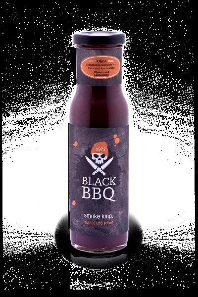 Black BBQ texas style. rauchig und scharf