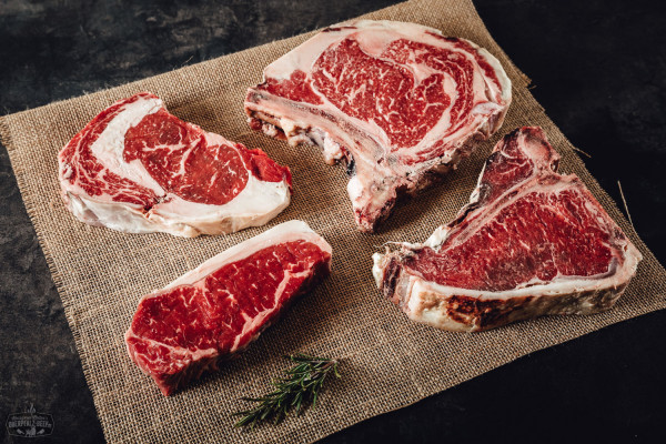 Steakpaket Dry Aged