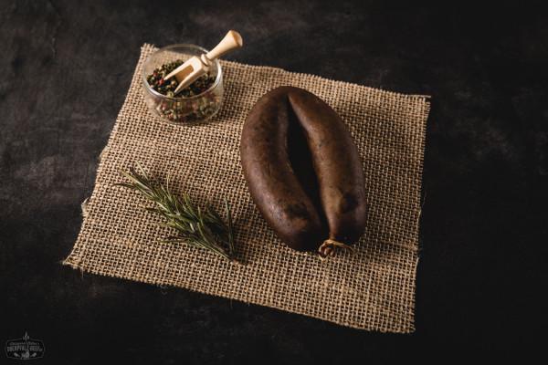 Oberpfälzer Krautwurst im Ring geräuchert