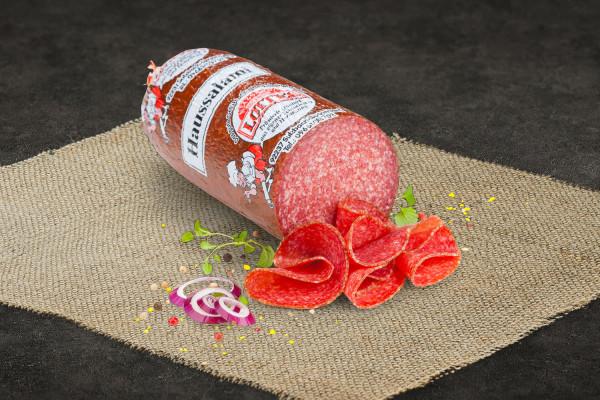 Salami, geschnitten