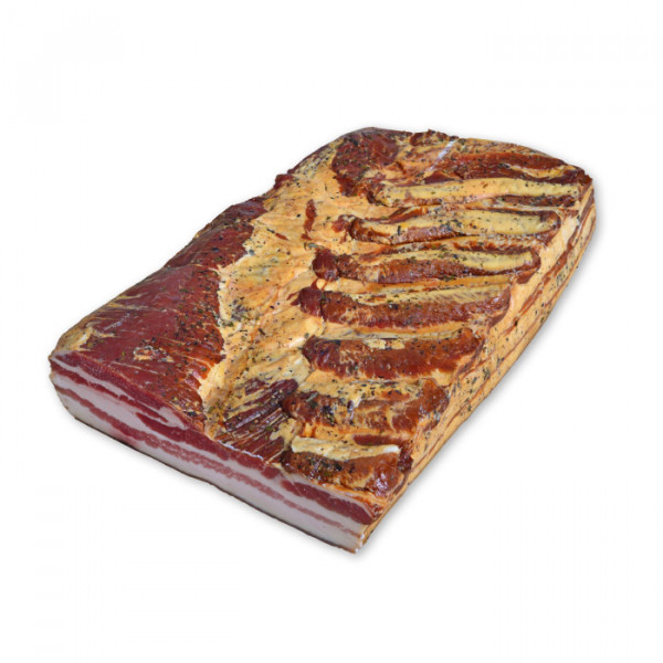 BBQ Bacon am Stück