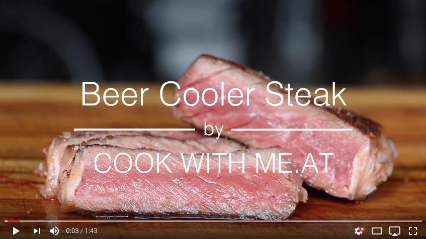 Rezept Video Beer Cooler Steak