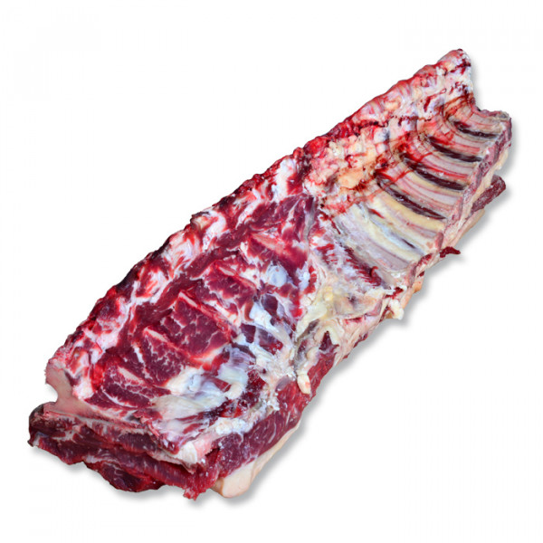 Roastbeef ganz mit Knochen ohne Filet zum selber reifen