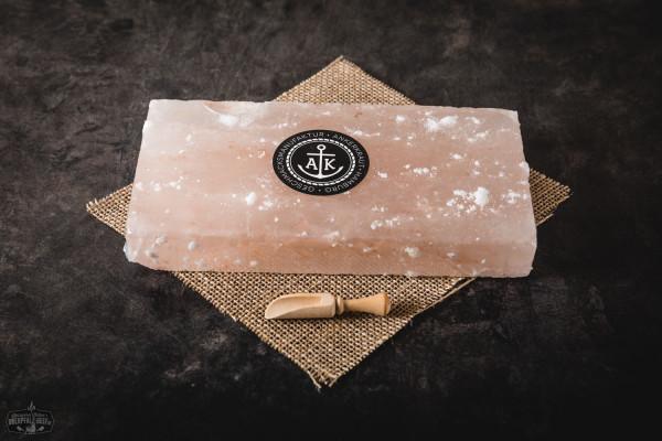 BBQ Salt Block, klein, Salzstein, Salzfliese, 20x10x2,5cm