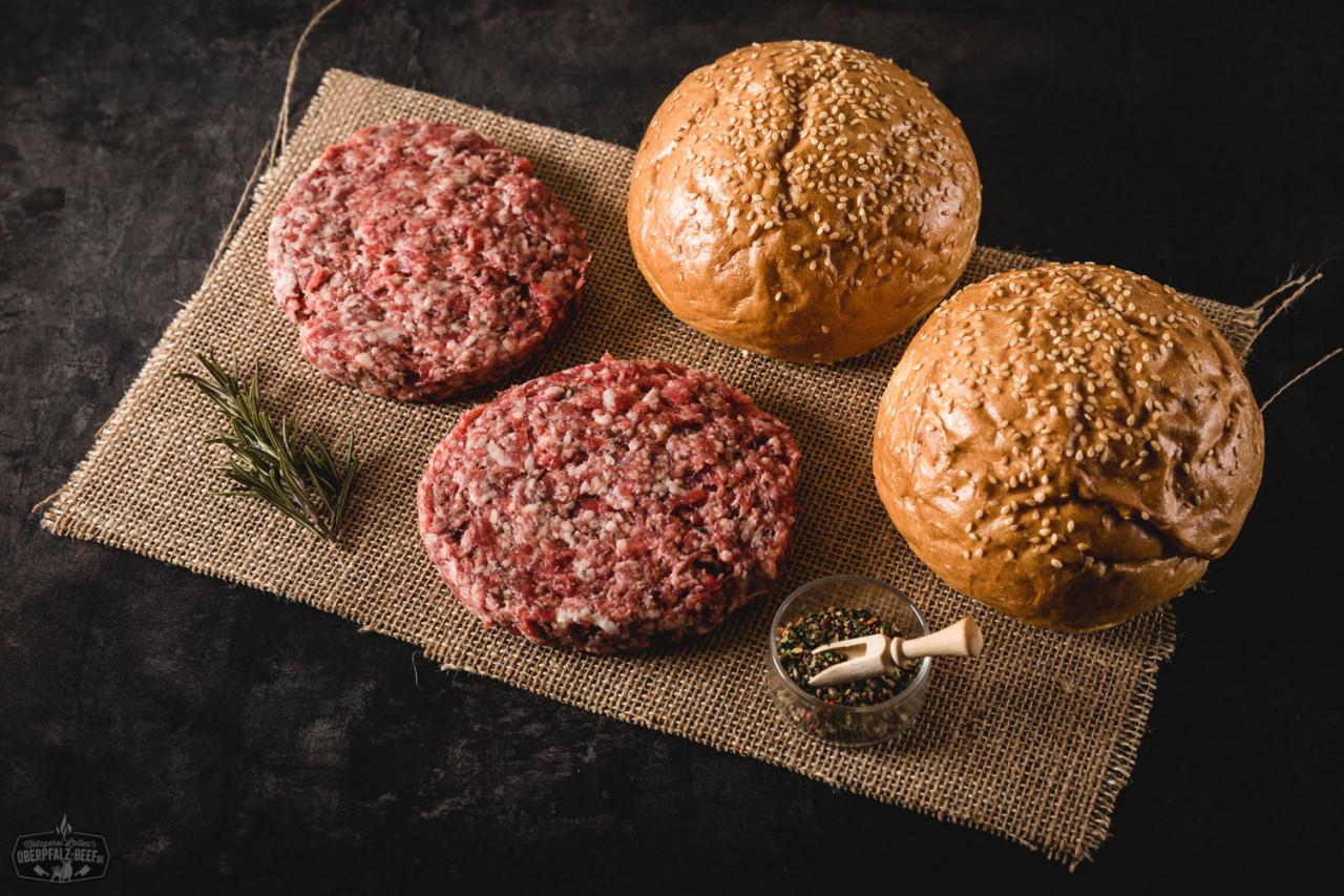 burgerpaket dry aged mini dry aged oberpf lzer rind grillen bbq oberpfalz beef. Black Bedroom Furniture Sets. Home Design Ideas