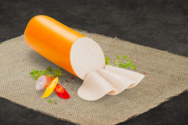 Gelbwurst, geschnitten