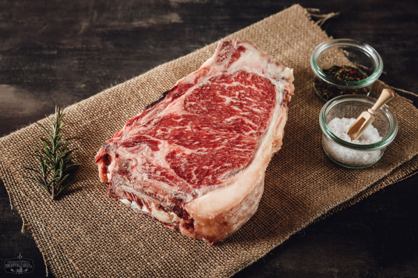 New York Cut Steak von der Oberpfalz Kuh Dry Aged