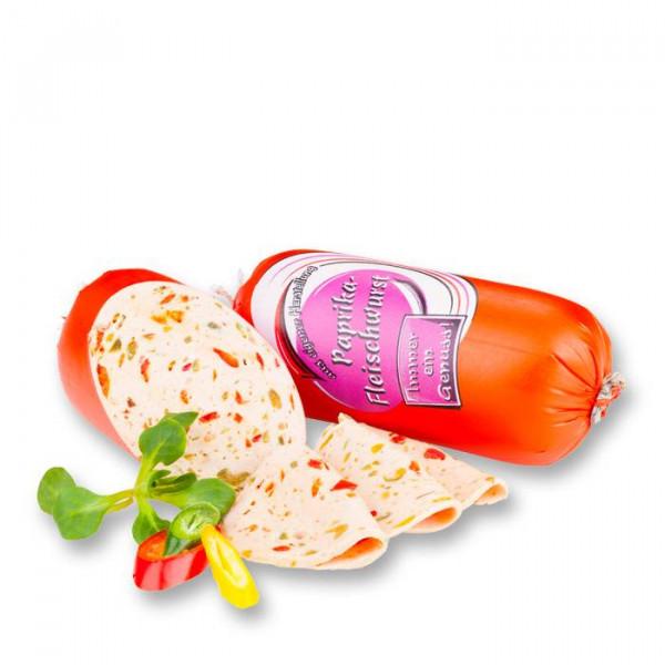 Paprika Portionswurst